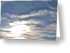 Sun And Sky Greeting Card