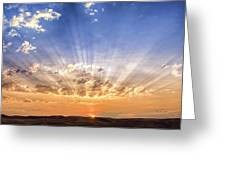 Sun Beams Greeting Card