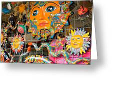 Wimberley Texas Sun Goddess And Her Court Greeting Card