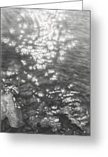 Sun In Water 2013 Greeting Card