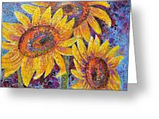 Sun-kissed Beauties Greeting Card