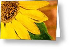 Sun-kissed Sunflower Greeting Card
