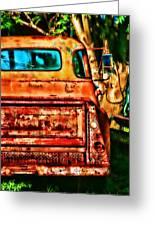 Sun Kissed Truck Greeting Card