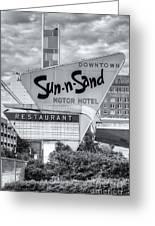 Sun-n-sand Motor Hotel II Greeting Card
