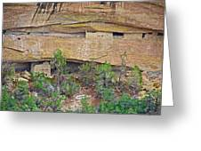 Sun Point Pueblo View-12-1300 Ad  On Chapin Mesa Top Loop Road In Mesa Verde National Park-colorado  Greeting Card