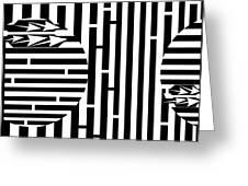 Sun Re-rising Maze Greeting Card