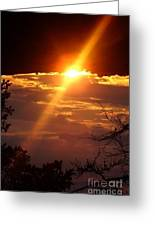 Sun Rise Greeting Card