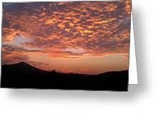 Sun Rise Colors Greeting Card by Kiara Reynolds