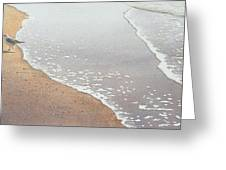 Sun Sand And Sea Greeting Card