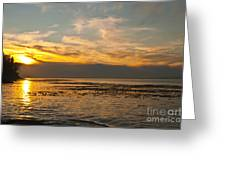 Sun Set Greeting Card