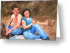 Sun Shulan Greeting Card