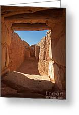 Sun Temple Mesa Verde National Park Greeting Card
