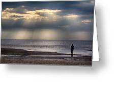 Sun Through The Clouds 2 Greeting Card