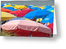 Sunbrellas Greeting Card