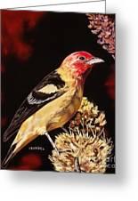Sunbright Songbird Greeting Card