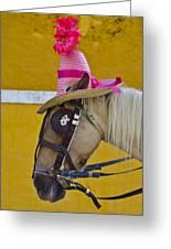 Sunday Bonnet  Greeting Card