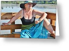 Sunday Lakeside  Greeting Card