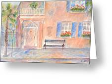 Sunday Morning In Charleston Greeting Card