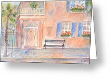 Sunday Morning In Charleston Greeting Card
