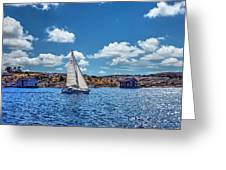 Sunday Sail Greeting Card
