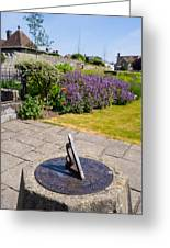 Sundial Greeting Card