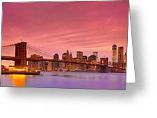 Sundown City Greeting Card