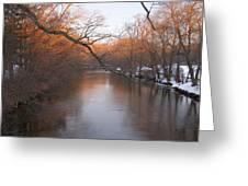 Sundown On The Breeches Greeting Card