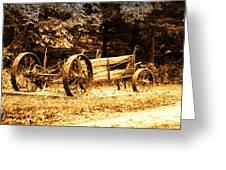 Sundown On The Honey Dew Wagon Greeting Card