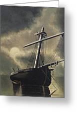 Port Of Haven - Sundown Greeting Card