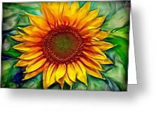 Sunflower - Paint Edition Greeting Card