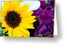 Sunflower And Company Greeting Card