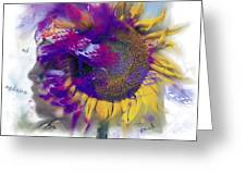 Sunflower Composite Greeting Card