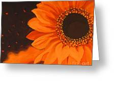 Sunflower Mystique Greeting Card