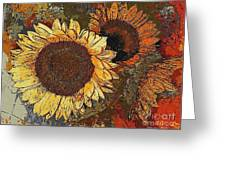 Sunflowers 397-08-13 Marucii Greeting Card