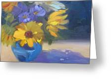 Sunflowers And Daisies Greeting Card