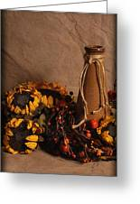 Sunflowers And Vase Greeting Card