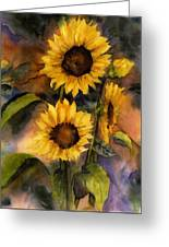 Sunflowers For Cyndi Greeting Card