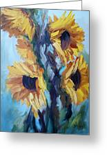 Sunflowers II Greeting Card