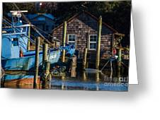 Shem Creek Life Greeting Card