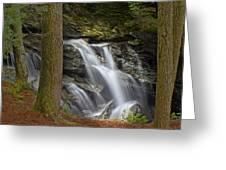 Sunlight On Bingham Falls Greeting Card