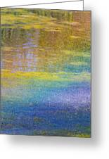 Sunlight Through Water Greeting Card