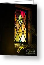 Sunlit Chapel Greeting Card
