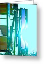 Sunlit Ferris Greeting Card