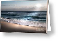 Sunlit Shore Greeting Card by Jeffery Fagan