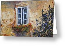 Sunlit Window Greeting Card