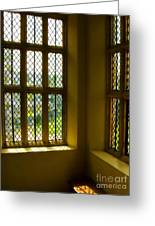 Sunny Corner At Montacute House  Greeting Card