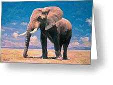 Sunny Day In The Savanna Greeting Card