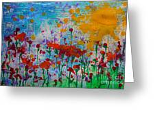 Sunny Day Greeting Card by Jacqueline Athmann