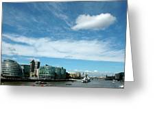 Sunny Day London Greeting Card