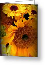 Sunny Easter Bouquet Greeting Card